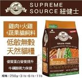 *KING WANG*美國Supreme Source紐健士 低敏無穀天然貓糧》雞肉+火雞+蔬果3lb