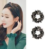 【NiNi Me】韓系耳環 925銀針閃鑽花朵花圈耳環 耳環 N0295
