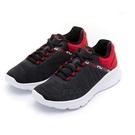 FILA-黑紅男性慢跑鞋NO.1J029...