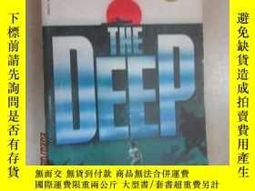 二手書博民逛書店外文書罕見THE DEEP(共290頁,32開)Y15969 出版1976