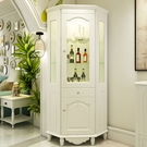 收納櫃 置物櫃歐式酒櫃床頭櫃 書櫃 櫥櫃 展示櫃 公仔櫃 模型櫃浴室收納櫃置物架xc