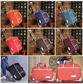 旅行包女手提大容量男拉桿包行李包可折疊防水待產包儲物包旅行袋(全館滿1000元減120)