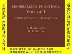 二手書博民逛書店Generalized罕見Functions-廣義函數Y436638 I. M. Gelfand; G....