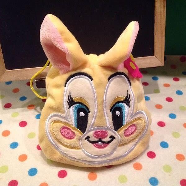 【發現。好貨】迪士尼邦妮兔束口袋 收納袋 化妝包 衛生棉包