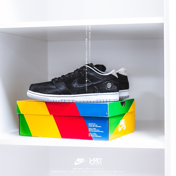 IMPACT Nike SB Dunk Low Medicom Toy BE@RBRICK 黑 白 CZ5127-001