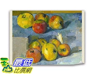 [COSCO代購] W121947 藝術油畫布104*76CM-水果靜物 Art Canvas Prints 104*76 CM-Paul Cézanne Apples