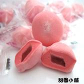 紅圓棉花糖(草莓) 500g 甜園小舖