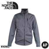 【The North Face 男 防風軟殼外套《深灰》】3VSF/保暖夾克/運動外套/保暖外套