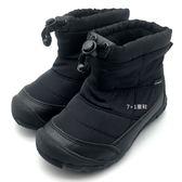 《7+1童鞋》中童 日本 IFME 輕量  防水  運動 保暖 高筒鞋 高筒靴  C444  黑色