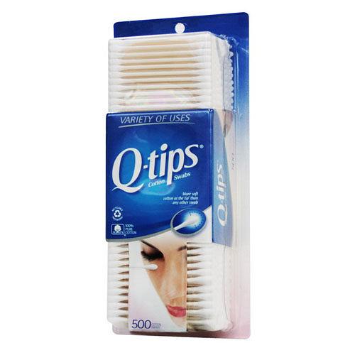 美國Q-tips棉花棒一盒500支(100%純棉)