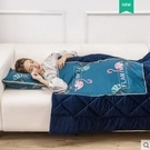 冬季加厚抱枕被子兩用汽車珊瑚絨毯辦公室靠墊神器午睡枕頭JD 小天使