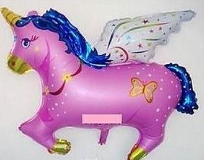 大飛馬鋁箔氣球-粉紅色(未充氣)~~求婚道具/婚禮 生日 耶誕節 尾牙佈置