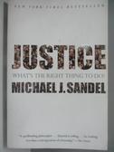 【書寶二手書T3/哲學_AR5】Justice_Sandel, Michael J.