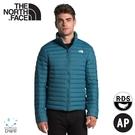 【The North Face 男 700FP 防潑水輕羽絨保暖外套《藍》】4NG4/保暖外套/夾克/休閒外套