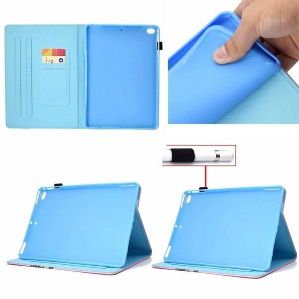 蘋果 iPad 234 Air2 Air D1彩繪平板套 平板皮套 平板保護套 插卡 支架 平板套