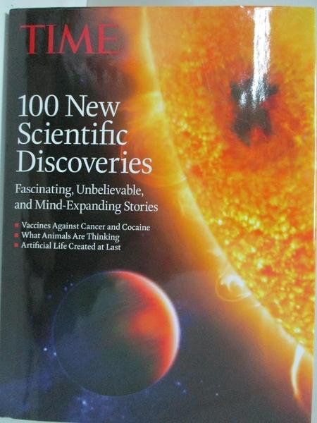 【書寶二手書T1/科學_DYD】100 New Scientific Discoveries: Fascinating, Unbelievable..