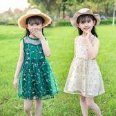童裝女童夏裝洋裝兒童洋氣裙子韓版女寶寶公主裙夏季潮 韓語空間