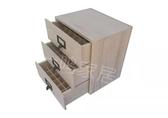 精油收納箱 三層抽屜精油木盒子多特瑞精油收納實木盒高檔精油包裝盒木箱 WJ【米家科技】