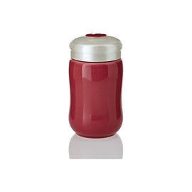 【收藏天地】乾唐軒活瓷系列*快樂隨身杯 胭脂款 ∕按摩 舒緩 碧璽 電氣石 養生 健康 負離子