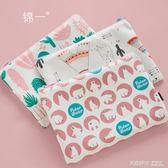 A5大容量拉鏈袋 糖果色小清新文具袋檔袋 防水分類票據夾 女學生用辦公資料收納包ATF  英賽爾3C