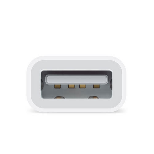 Apple 蘋果 Lightning 對 USB 相機 轉接器 (iPhone iPad iPod)(MD821FE/A)