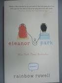 【書寶二手書T9/原文小說_NBR】Eleanor & Park_Rainbow Rowell