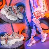 老爹鞋女ins超火的鞋子秋2018新款松糕厚底bf運動鞋丑鞋網紅單鞋-大小姐韓風館