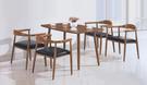 【IS空間美學】歐上鐵藝桌椅組 一桌四椅...