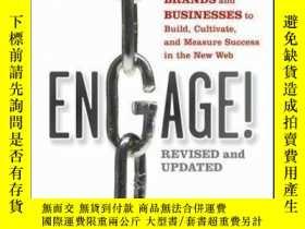 二手書博民逛書店Engage!:罕見The Complete Guide for Brands and Businesses to