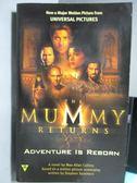 【書寶二手書T5/原文小說_ORS】The Mummy Returns_Max Allan Collins