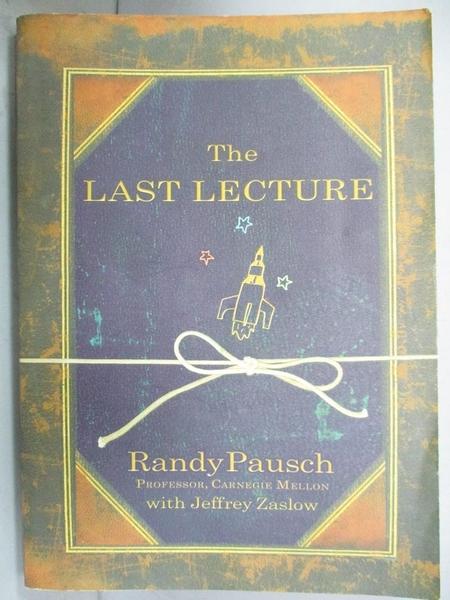 【書寶二手書T8/心理_GHR】The Last Lecture_PAUSCH