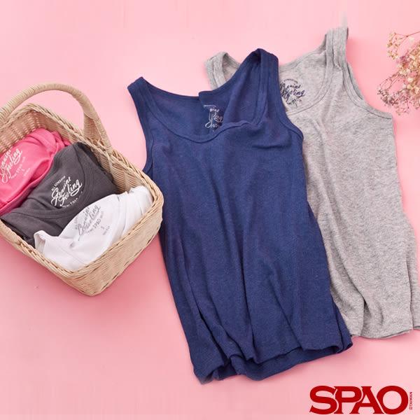 SPAO女款基本款純色背心-共6色