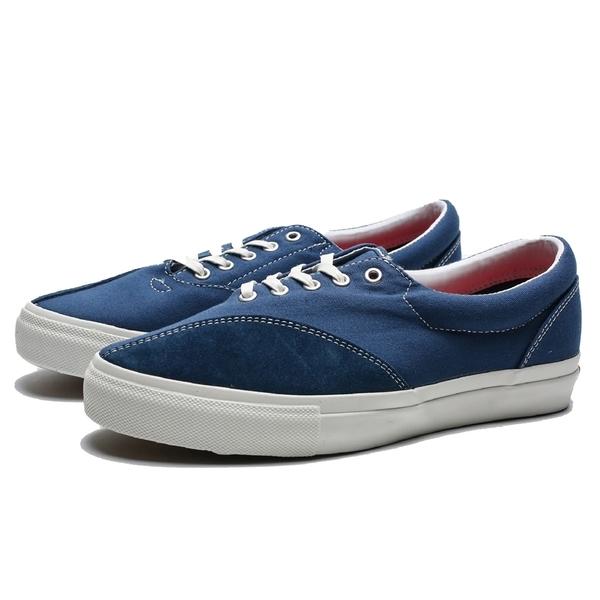 CLEARWEATHER DONNY 海軍藍 帆布 麂皮 休閒 滑板鞋 男 (布魯克林) CM015003