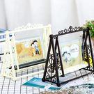 創意DIY相架結婚照片擺件相框個性相框擺...