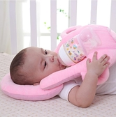 懶人喂奶神器哺乳新生兒寶寶床上躺著吃奶瓶固定支架嬰兒多功能枕 貝芙莉