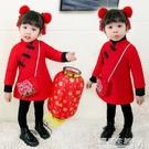 女童3冬裝加厚4旗袍連身裙5寶寶新年裝6兒童唐裝小孩過年衣服1歲 遇見生活