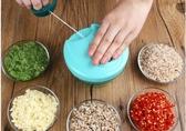 家用手動絞肉攪菜機多功能手拉式切菜碎菜器蒜泥機器LX 618購