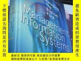 二手書博民逛書店Management罕見Information Systems
