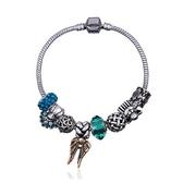 串珠手鍊-水晶飾品細緻可愛生日聖誕節交換禮物女配件73bn49[時尚巴黎]