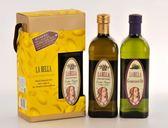 LA BELLA樂貝納義大利冷壓初製橄欖油+特級葡萄籽油