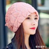 月子帽 新款韓版秋冬季產婦帽保暖時尚休閒帽坐月子 AW7259【棉花糖伊人】