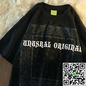 復古腰果花T恤女夏季寬鬆短袖上衣【風之海】
