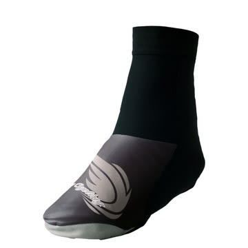 【ATEMPO】ACC配件系列 中性款 防風保暖鞋套 灰黑色