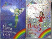 【書寶二手書T6/原文小說_MAC】Flora The Fancy Dress Fairy_Holly the Christmas Fairy_2本合售
