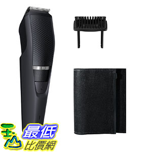 [9美國直購] Philips 電動理髮器 Norelco Beard Trimmer BT3210/41 - cordless grooming, rechargable, adjustable length