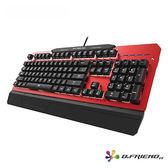 B.FRIEND MK5 青軸 中文 電競鍵盤 / 火焰紅