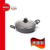 《WOLL》德國歐爾 鈦鑽28cm鑄造不沾湯鍋