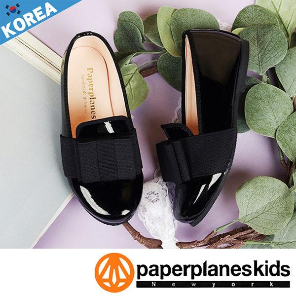 PAPERPLANES 紙飛機 正韓製 韓國爆紅 漆皮圓頭 好穿 男女款 童鞋【B7909013】