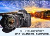 遮光罩 優質佳能24-70f2.8一代鏡頭遮光罩卡口77mm可反扣植絨EW83F遮陽罩聖誕節