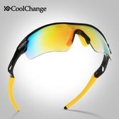 酷改騎行眼鏡山地車男女通用偏光近視戶外裝備運動防風自行車眼鏡 ☸mousika